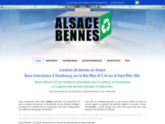 Création du site Internet de Alsace Bennes (Entreprise de Terrassier à STRASBOURG )