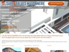 Création du site Internet de J ALVES MACONNERIE (Entreprise de Maçon à VILLETTE D'ANTHON )