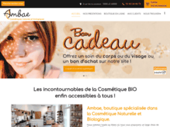 Création du site Internet de AMBAE (Entreprise de Gestionnaire de biens à LE MANS )