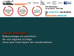 AMC débouchages, désobstruction et nettoyage de canalisations à Liège