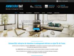 Création du site Internet de Ammoura'Bat (Entreprise de Entreprise générale à DRANCY )