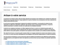 Détails : Urgence plombier Paris 13