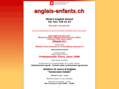 Ecole maternelle bilingue, enseignement selon méthode Montessori