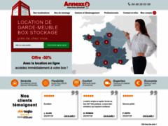 Détails : Annexx la solution de garde meuble et box de stockage