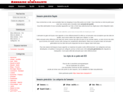 Détails : Annuaire de référencement