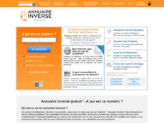 Détails : L'annuaire inversé - Annuaire téléphonique de France