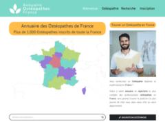 Détails : Le site qui recense les ostéopathes de France