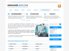 Détails : Annuaire Web: Annuaire gratuit de référencement