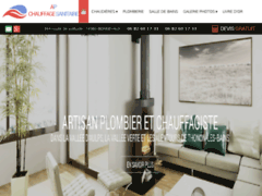 Création du site Internet de AP CHAUFFAGE SANITAIRE (Entreprise de Chauffagiste à BONNEVAUX )