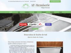 Création du site Internet de AP-Menuiserie (Entreprise de Menuisier à ACHICOURT )