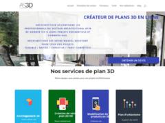 Détails : Service de réalisation de plan 3D en ligne pas cher