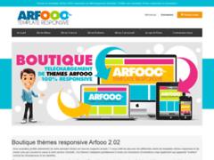 Détails : Theme Arfooo et template Arfooo