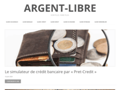 Détails : Argent Libre : Meilleur annuaire thématique de présentation des articles