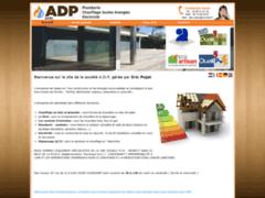Création du site Internet de A.D.P (Entreprise de Chauffagiste à GUINGAMP )