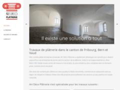 Détails : Entreprise de plâtrerie en Suisse romande