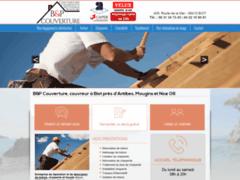 Création du site Internet de Artisan BENOIT (Entreprise de Couvreur à BIOT )