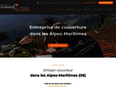 Création du site Internet de Dumas toiture  (Entreprise de Couvreur à CAGNES SUR MER )