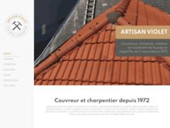 ARTISAN VIOLET: Couvreur charpentier à VILLECRESNES
