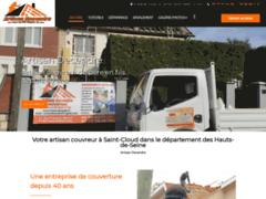 Création du site Internet de Artisan Decendre  (Entreprise de Couvreur à SAINT CLOUD )