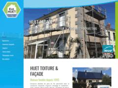 Création du site Internet de Entreprise HUET  (Entreprise de Couvreur à JUVISY SUR ORGE )