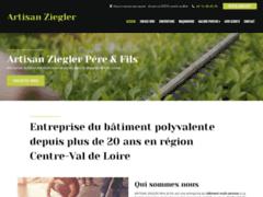 ARTISAN ZIEGLER: Couvreur charpentier à LA FERTE-SAINT-AUBIN