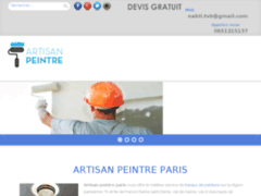 Artisan peintre Paris