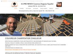 AS PRO RENOV: Couvreur charpentier à VALBONNE