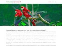 Détails : La meilleure assurance pour votre Perroquet