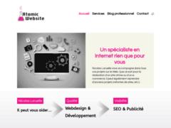 Détails : Atomic Website,agence de communication web  en Belgique