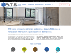 Création du site Internet de A.T.S (Entreprise de Entreprise générale à GOUSSAINVILLE )