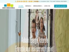 Création du site Internet de AUBAIN L'ENERGIE NATURELLE (Entreprise de Chauffagiste à SAINT FARGEAU PONTHIERRY )