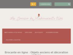 Détails : www.augrenierdemademoisellezoe.com