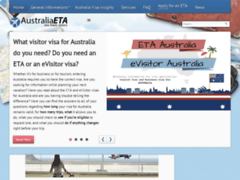 Détails : Type de Visa pour Australie enligne