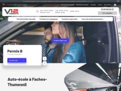V12 Conduite, auto-école située à Faches-Thumesnil