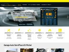Création du site Internet de GARAGE AUTO SERVIPLUS (Entreprise de Contrôle et Révision à SAINT MICHEL )