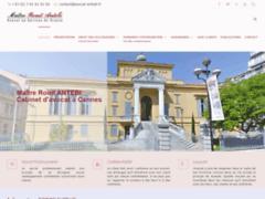 Site Détails : Aide juridique à Cannes - Maître Ronit Antebi