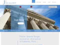 Prestations d'avocat Berger en droit pénal