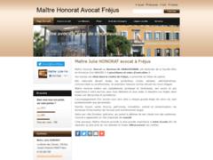 Site Détails : Maître honorat avocat fréjus