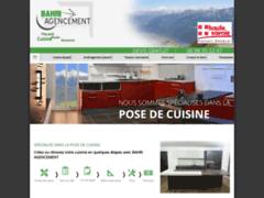 Création du site Internet de BAHRI AGENCEMENT (Entreprise de Cuisiniste à THYEZ )