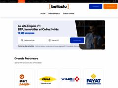 BatiActuEmploi.com : Le spécialiste digital de l Emploi BTP et Immobilier