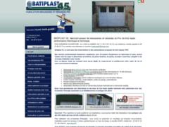 Création du site Internet de BATIPLAST 45 (Entreprise de Menuisier à GUILLY )