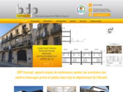 Création du site Internet de BDP CONCEPT (Entreprise de Entreprise générale à ST GEORGES D'ORQUES )