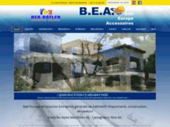 Création du site Internet de Bati Europe Accessoires (Entreprise de Entreprise générale à CASTAGNIERS )