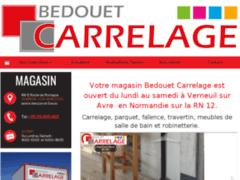 Création du site Internet de BEDOUET CARRELAGE (Entreprise de Grossiste matériaux à VERNEUIL SUR AVRE )
