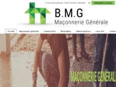 Création du site Internet de B.M.G (Bektas Maçonnerie Générale) (Entreprise de Couvreur à LAUDUN L'ARDOISE )