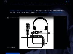 Détails : Cyril Belange, interprète de conférence