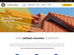 Brunet Francois Couvreur: Couvreur charpentier à DOMONT