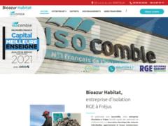 BIOAZUR HABITAT / ISOCOMBLE : Isolation à FREJUS