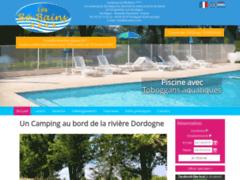 Camping Les Bo Bains Badefols sur Dordogne en dordogne périgord pourpre