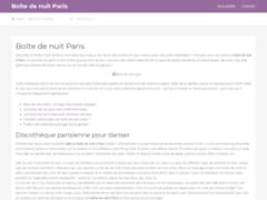 Détails : Boîte de nuit à Paris